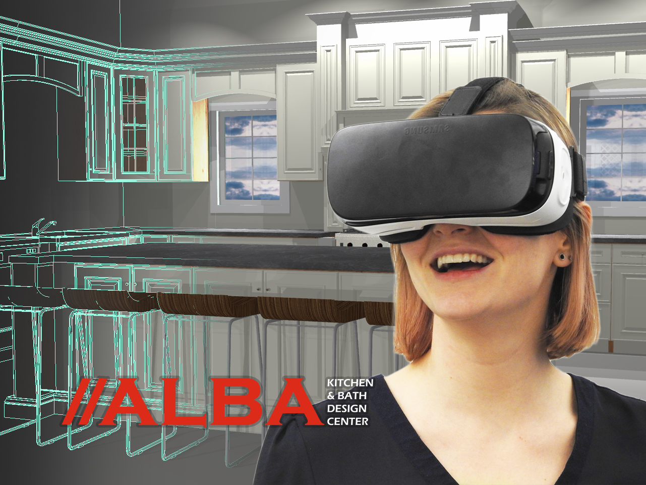 Virtual Reality Kitchen Design Alba Kitchen And Bath Kitchen Cabinets Nj
