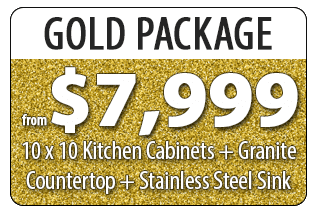 ALBA KITCHEN CABINETS 7999 GOLD PACKAGE BANNER