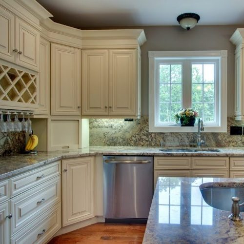 Cream maple alba kitchen design center kitchen cabinets nj Kitchen and bath design center lake hopatcong nj
