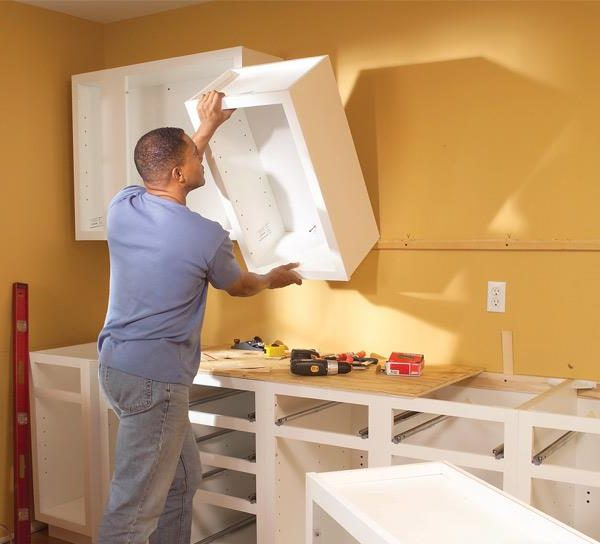 Installing Wall Cabinet How To