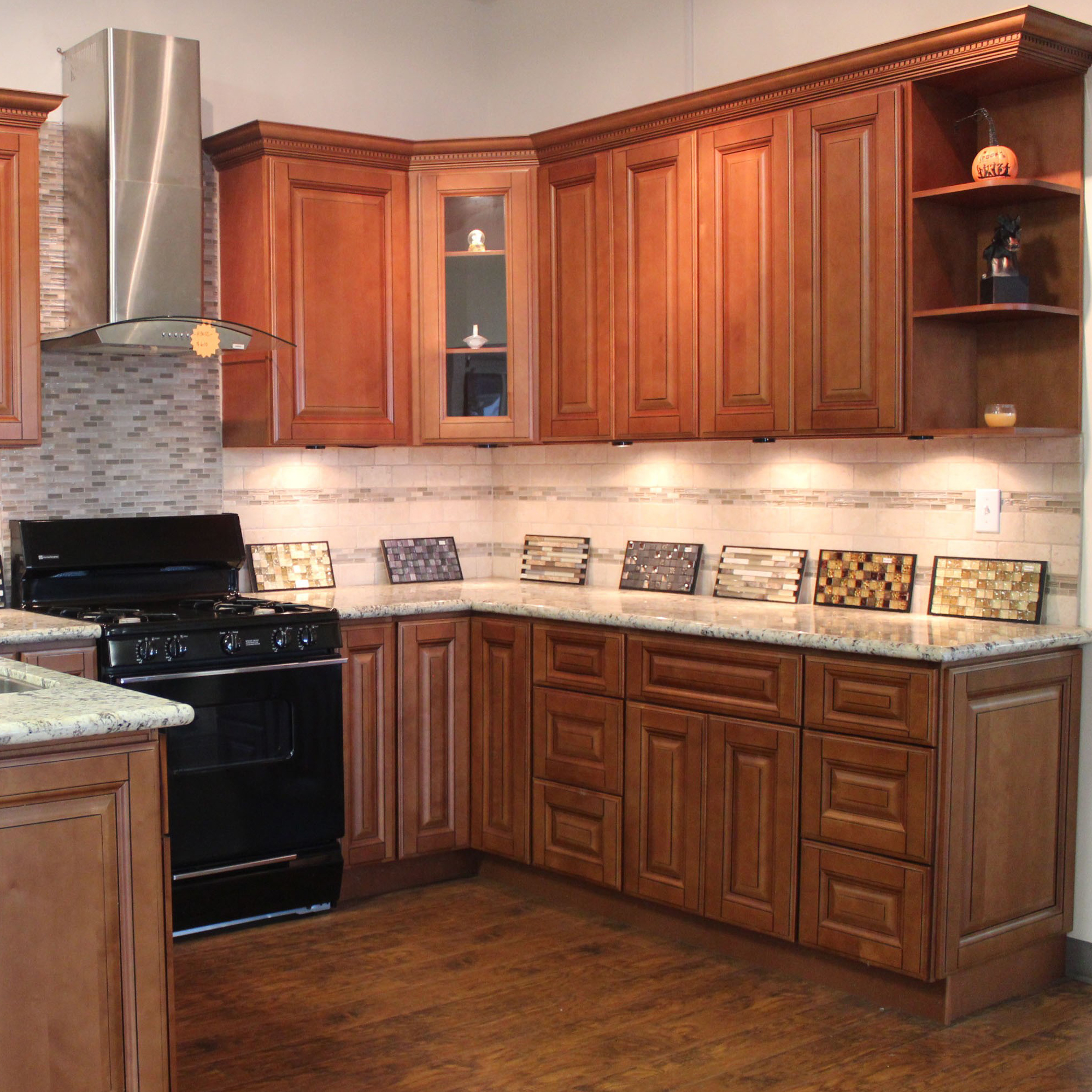 Mocha Glazed Alba Kitchen Design Center Kitchen Cabinets Nj