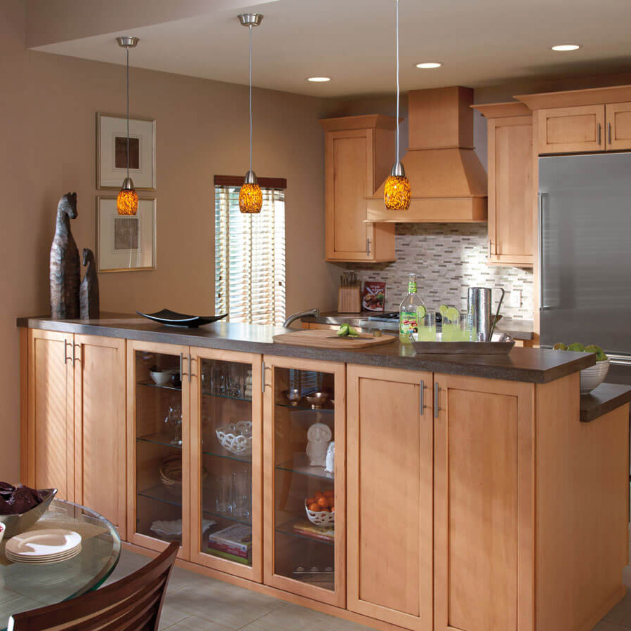 Kitchen Design Center: Waypoint 600 Series » Alba Kitchen Design Center, Kitchen